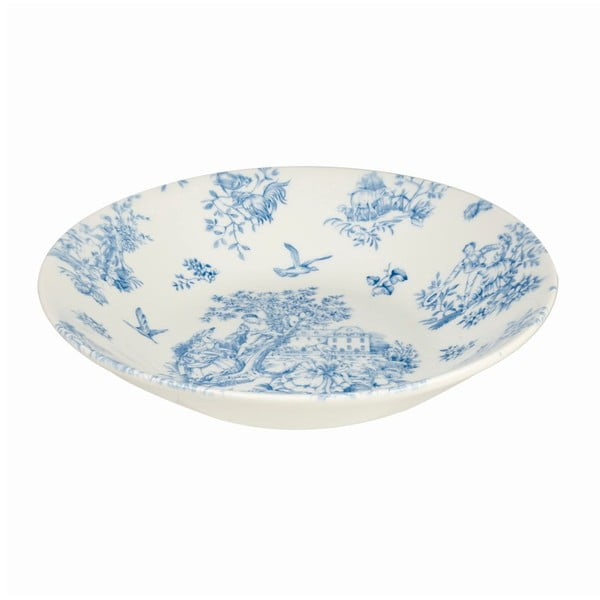Hlboký tanier Churchill China Toile Blue de Jardin, 24 cm
