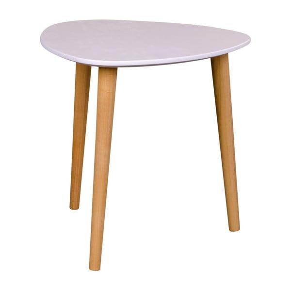 Biely odkladací stolík House Nordic Genova, výška 39,5 cm