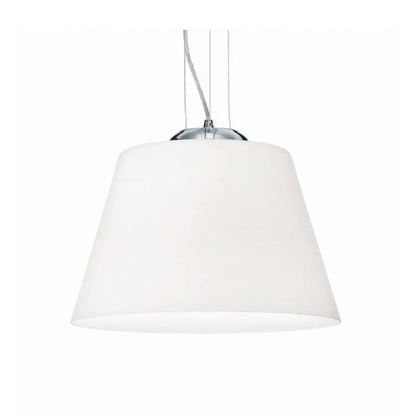 Biele závesné svietidlo Evergreen Lights Crido