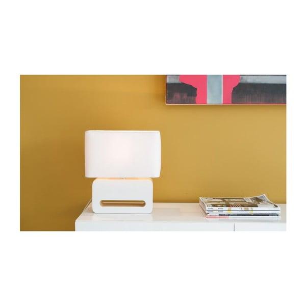 Čierna stolová lampa Zuiver Wood