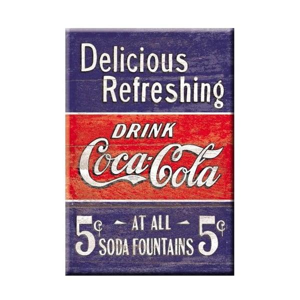Plechová ceduľa Delicious Refreshing, 30x40 cm