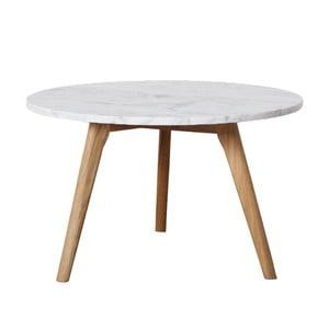 Konferenčný stolík FIORD Marble, 50x45 cm