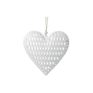 Závesná dekorácia Parlane Heart Triangle, 9 cm