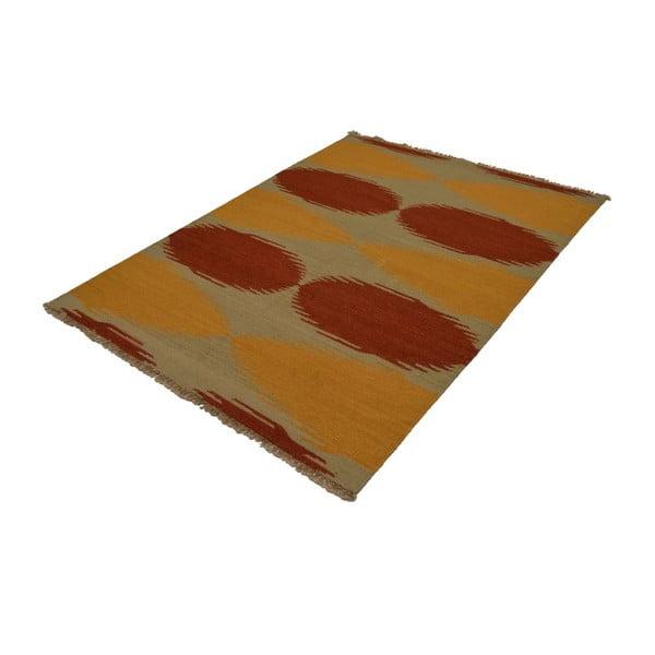 Vlnený koberec Kilim no. 80, 140x200 cm