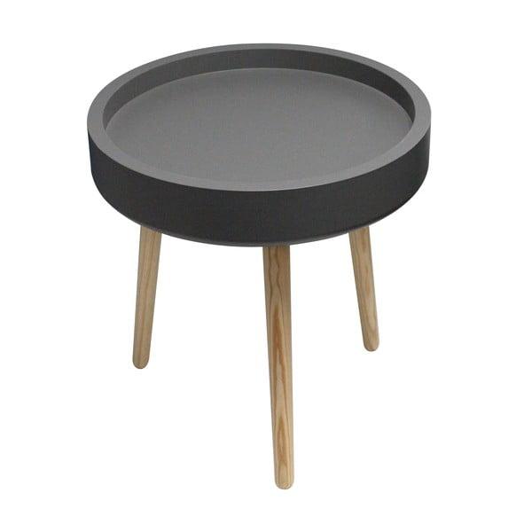 Odkladací stolík Pod, čierny