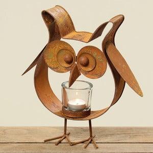 Svietnik Bronze Owl