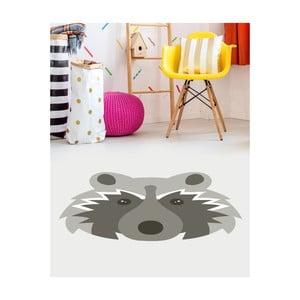 Detský vinylový koberec Floorart Racoon, 135 x 150 cm