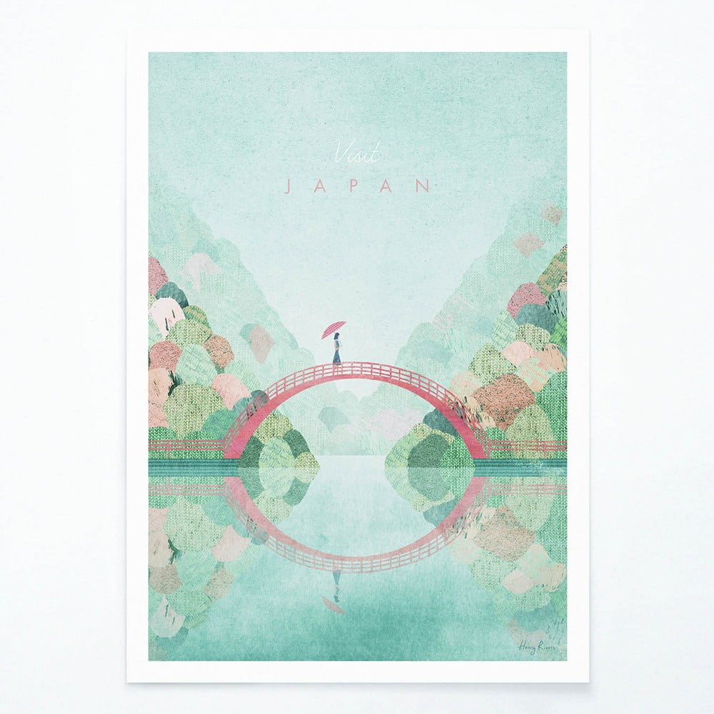 Plagát Travelposter Japan II A3