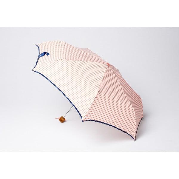 Skladací dáždnik Vichy, oranžový