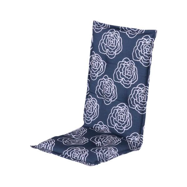 Modrý záhradný vankúš na sedenie Hartman Peonie, 123 × 50 cm