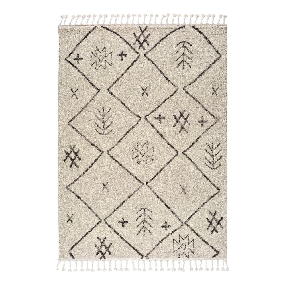 Béžový koberec Universal Marakesh Print, 60 x 120 cm