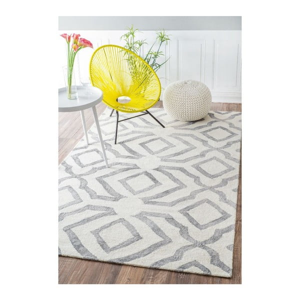 Vlnený koberec Elegino Grey, 120x183 cm