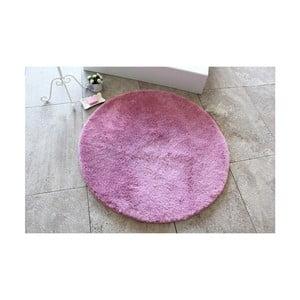 Fialová kúpeľňová predložka Confetti Bathmats Colors of Lilac, ⌀90 cm