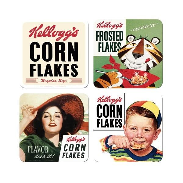 Sada 4 podložiek Postershop Corn Flakes
