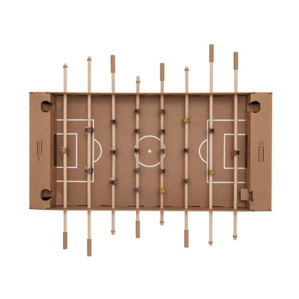 Kartónový stolný futbal Kartoni, prírodný