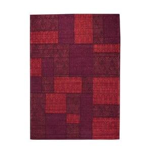 Koberec Patchwork 9 Red, 75x150 cm