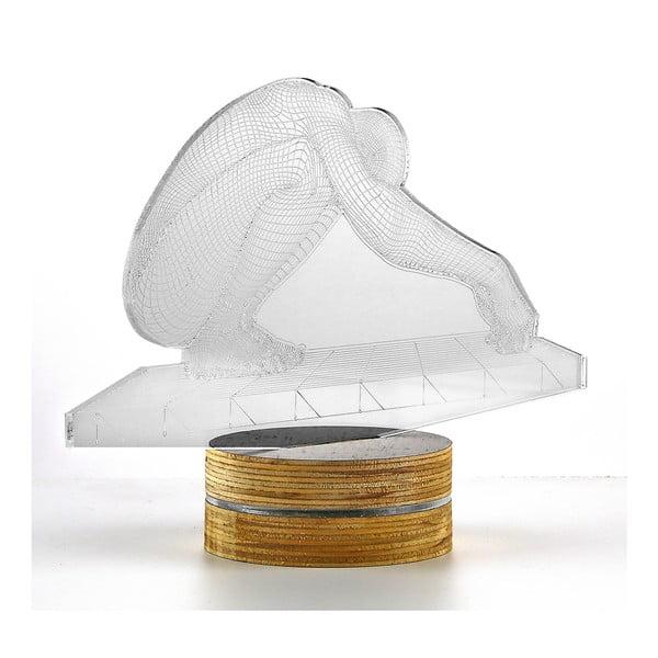 3D stolová lampa Person