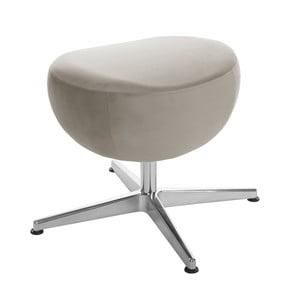 Sivohnedá otočná stolička/podnožka My Pop Design Monory