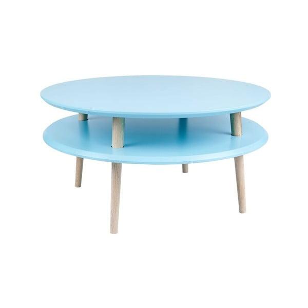 Konferenčný stolík UFO 35x70 cm, modrý