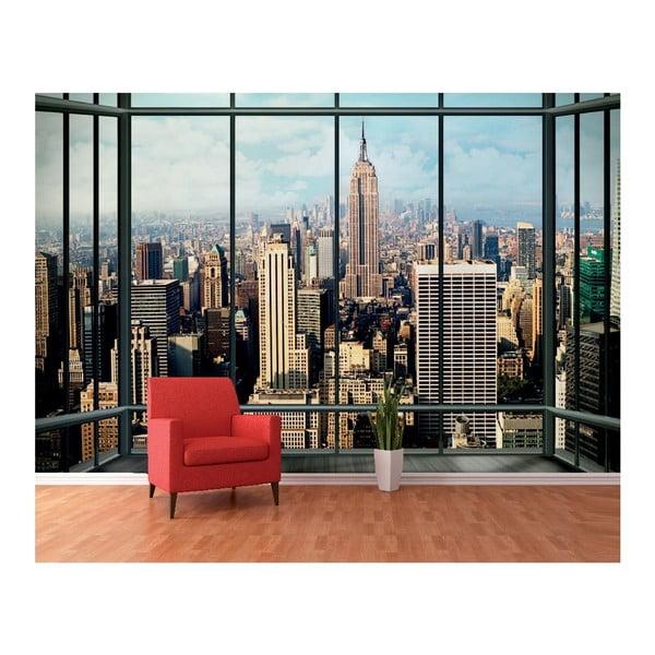 Veľkoformátová Tapeta okná New Yorku, 360x253 cm