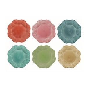 Sada 12 farebných tanierov Villa d'Este Colori, Ø33 cm