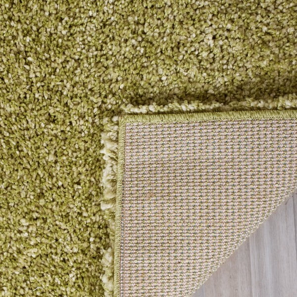 Koberec Crosby Shag Yellow, 91 x 152 cm