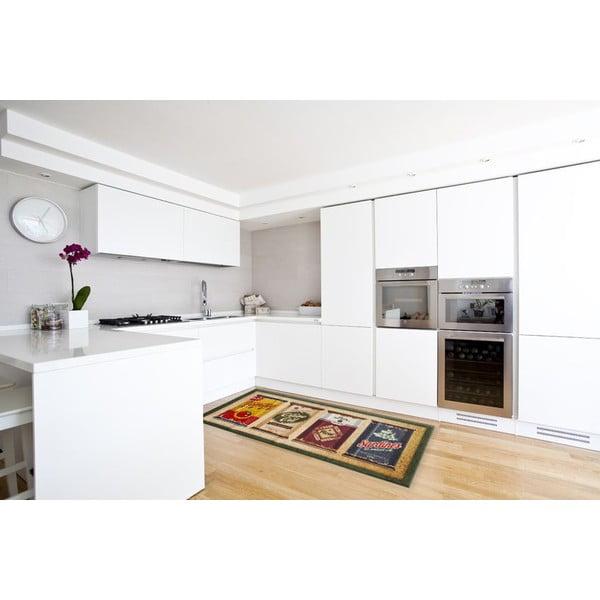 Vysokoodolný kuchynský koberec Caddy, 60x300 cm