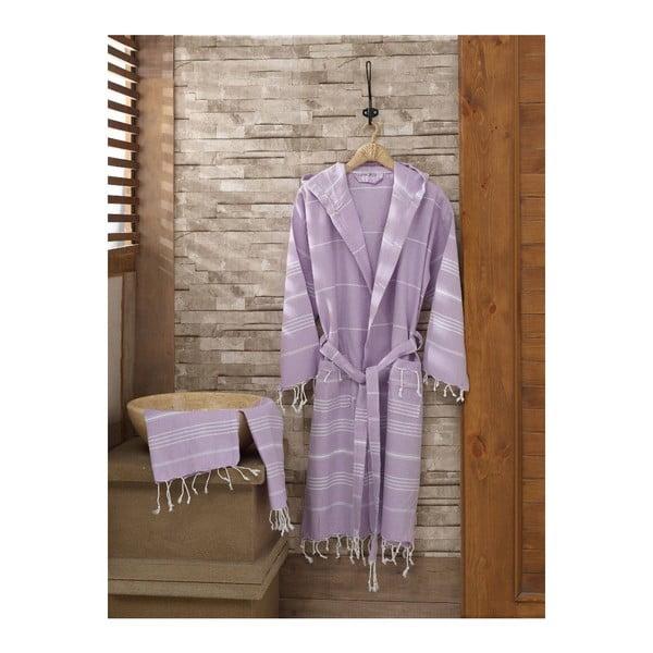 Set županu a ručníku Sultan Lilac, vel. S/M