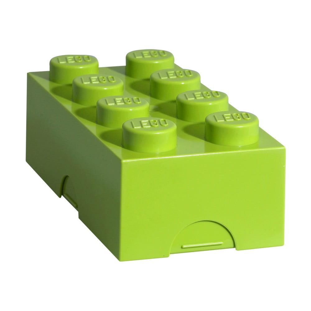 Limetkovozelený desiatový box LEGO®
