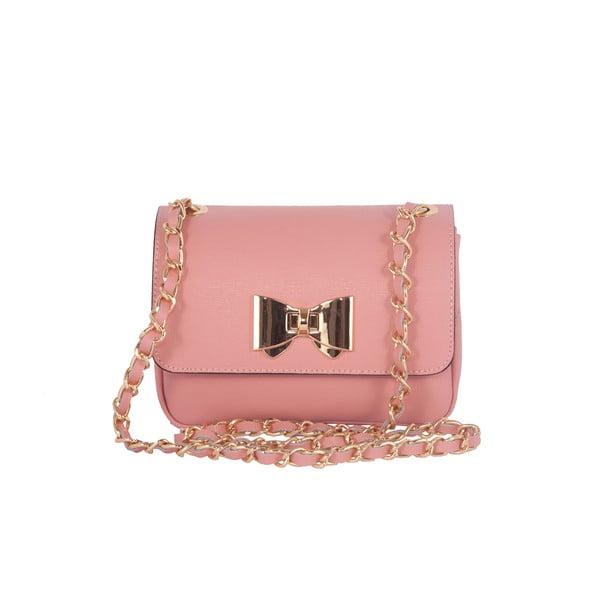 Kožená kabelka Andrea Cardone 2020 Pink