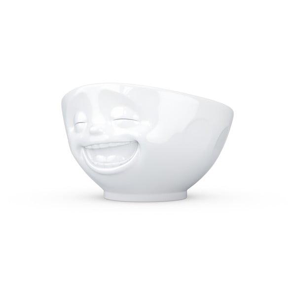 Biela porcelánová smejúca sa miska 58products