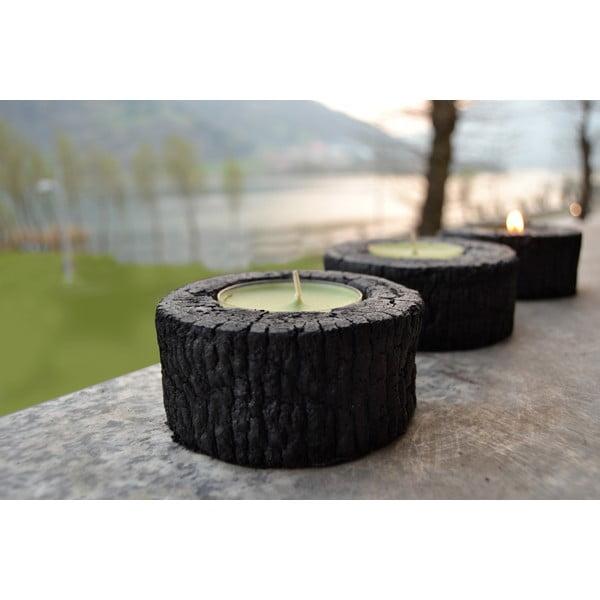 Palmový stojan na sviečky Legno