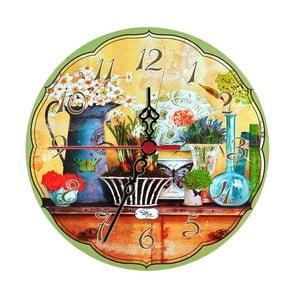Nástenné hodiny Herbs, 30 cm