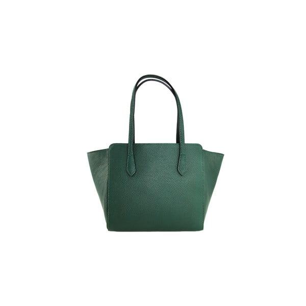 Kožená kabelka Borsa Verde