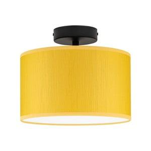 Žlté stropné svietidlo Bulb Attack Doce, ⌀ 25 cm