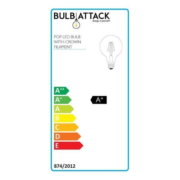 Sada 3 LED žiaroviek Bulb Attack POP Crown, E27 4 W