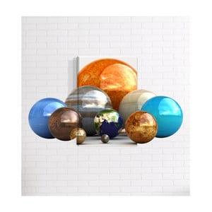 Nástenný 3D obraz Mosticx Planétky, 40 x 60 cm