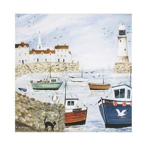 Obraz Graham&Brown Harbourside Type,50x50cm