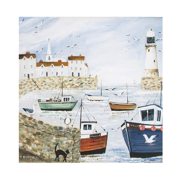Reprodukcia obrazu Graham & Brown Harbourside Type, 50 × 50  cm