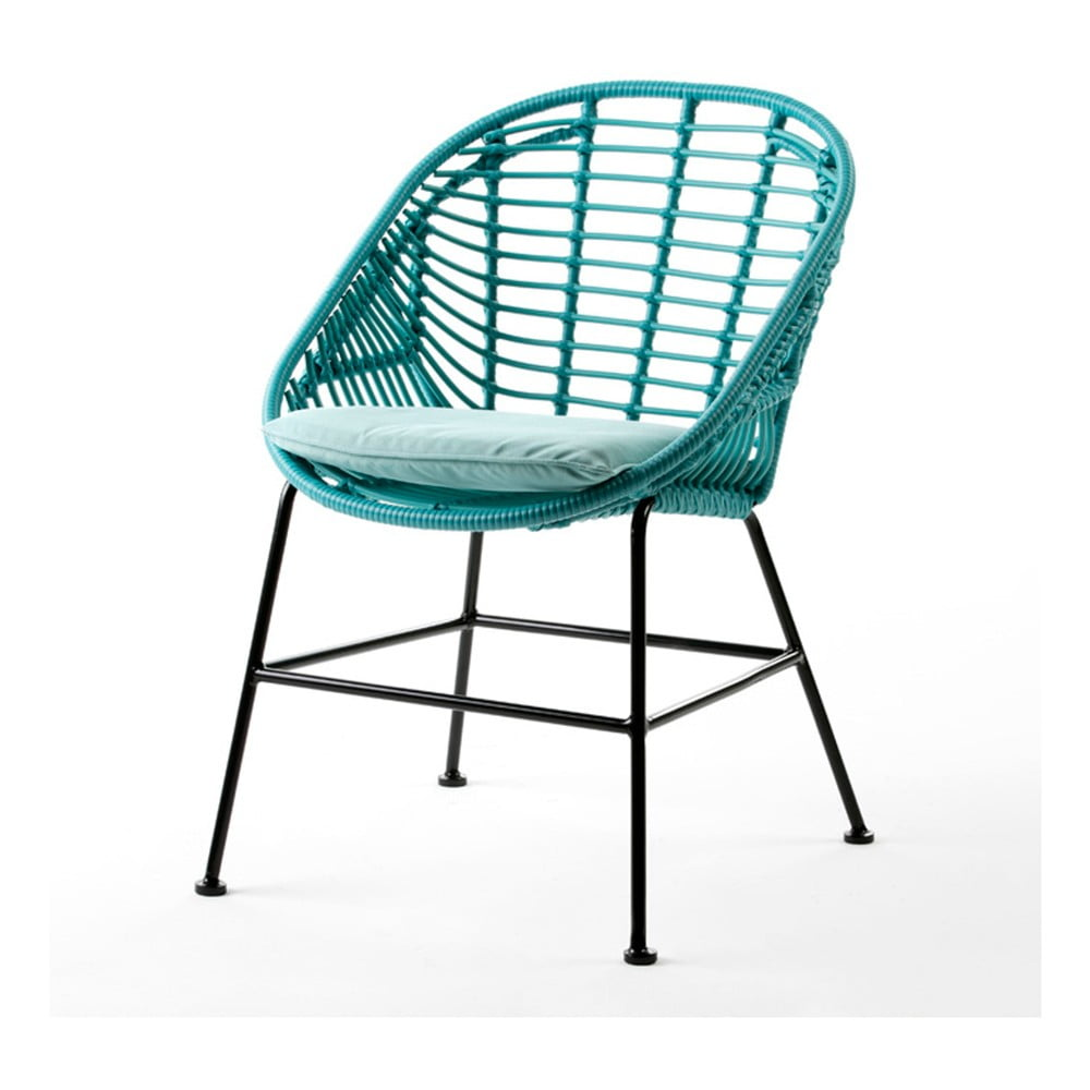 Tyrkysová stolička Thai Natura Cushion