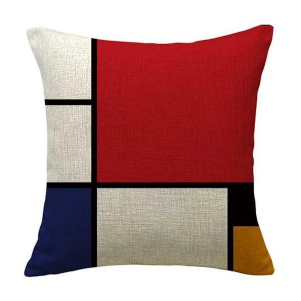Obliečka na vankúš Line Colors, 45x45 cm