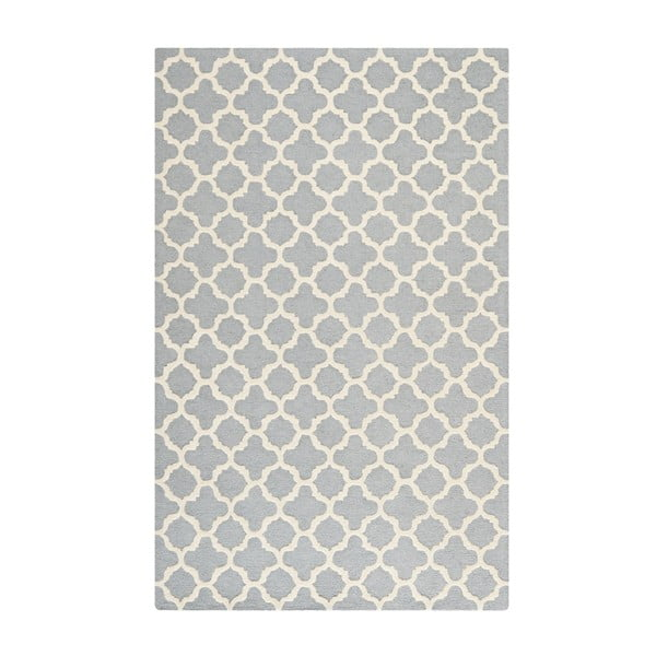 Koberec Bessa 121x182 cm, sivý