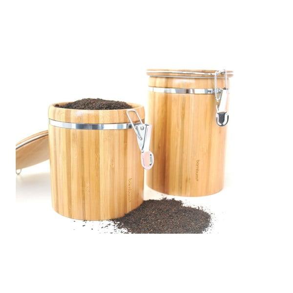 Bambusová úložná dóza Bambum Sante