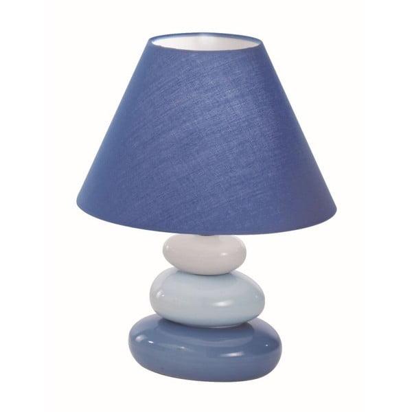 Stolná lampa Crido Blue Stone