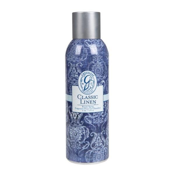 Priestorová vôňa v spreji Classic Linen, 177 ml