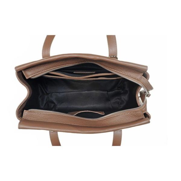 Kožená kabelka Glam Latte