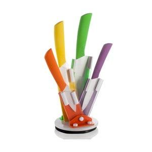Farebné nože so stojanom Flex