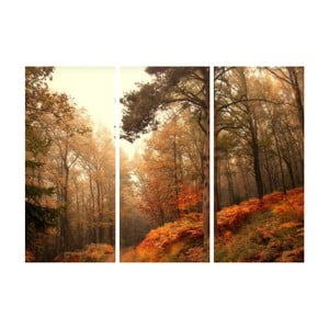 3-dielny obraz Jesenná roklina