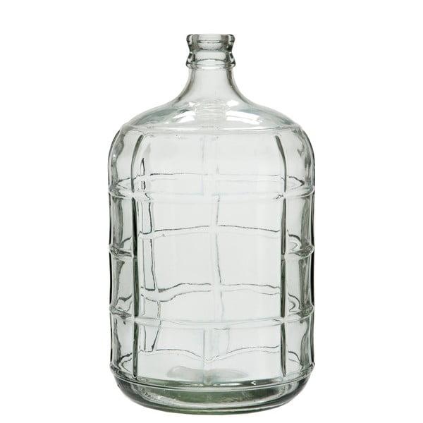 Sklenená váza Check, 42 cm