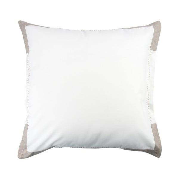 Obliečka na vankúš Moaré White, 50x50 cm